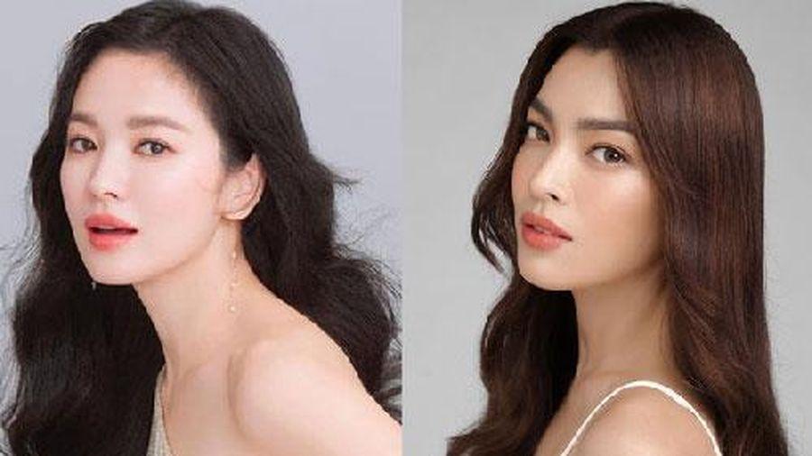 Xuất hiện mỹ nhân Việt được khen giống Song Hye Kyo, còn khoe thân nóng bỏng ở Mỹ