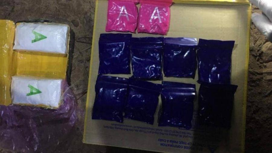 Thanh niên người Lào vượt sông Sê Pôn, vận chuyển 6000 viên ma túy