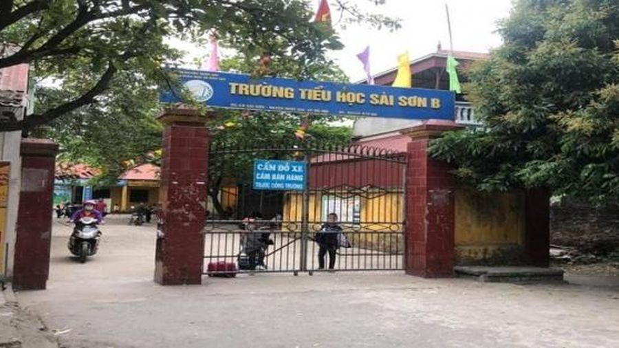 Công bố kết quả thanh tra sự việc ở Trường Tiểu học Sài Sơn B