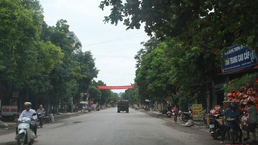 Phát triển đô thị ở huyện Thạch Thành