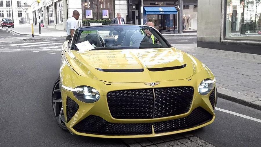 Tuyệt phẩm Bentley Bacalar gần 2 triệu USD tại London