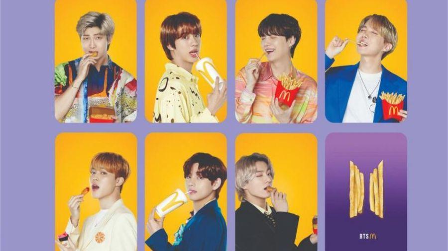 McDonald's lập menu lấy tên nhóm nhạc đình đám BTS