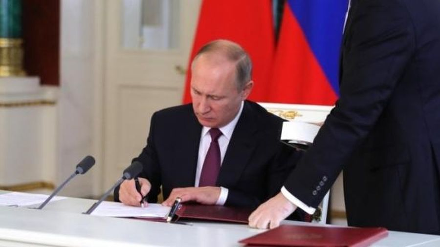 Tổng thống Putin ký văn bản ấn định ngày tổ chức bầu cử Hạ viện