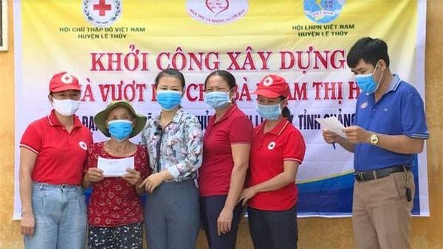 Quảng Bình: Khởi công xây dựng 'Nhà vượt lũ' cho đối tượng thương binh tại huyện Lệ Thủy