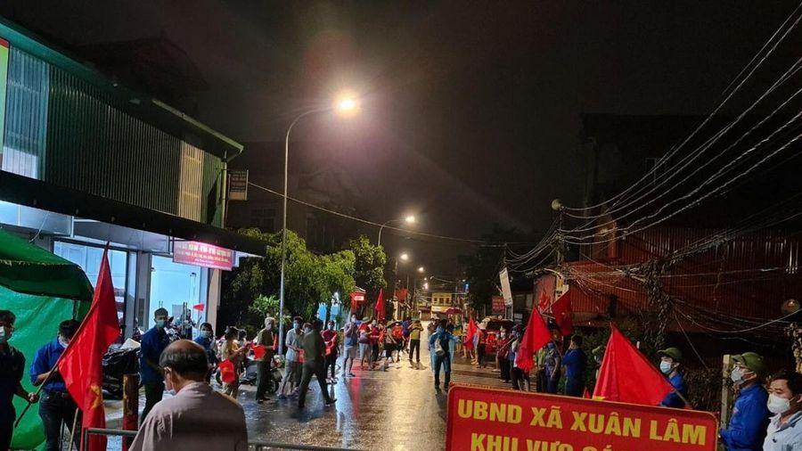 Bắc Ninh dỡ bỏ cách ly xã hội nhiều xã ở huyện Thuận Thành, Tiên Du