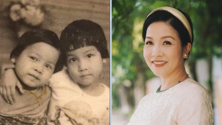 Khoe ảnh cũ, diva Mỹ Linh đố mọi người nhận ra mình hồi bé