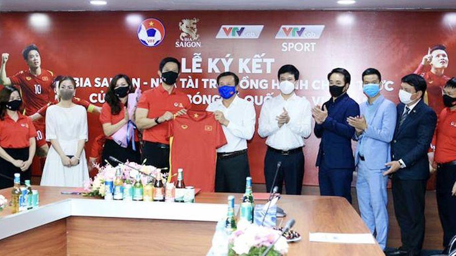Đội tuyển Việt Nam có thêm đối tác đồng hành