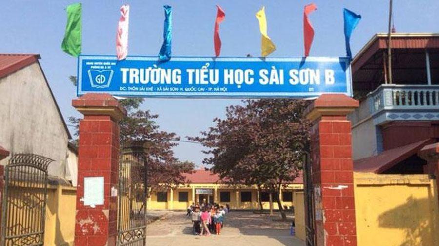 Kết luận thanh tra tại Trường Tiểu học Sài Sơn B (huyện Quốc Oai): Sẽ xử lý đúng người, đúng vụ việc