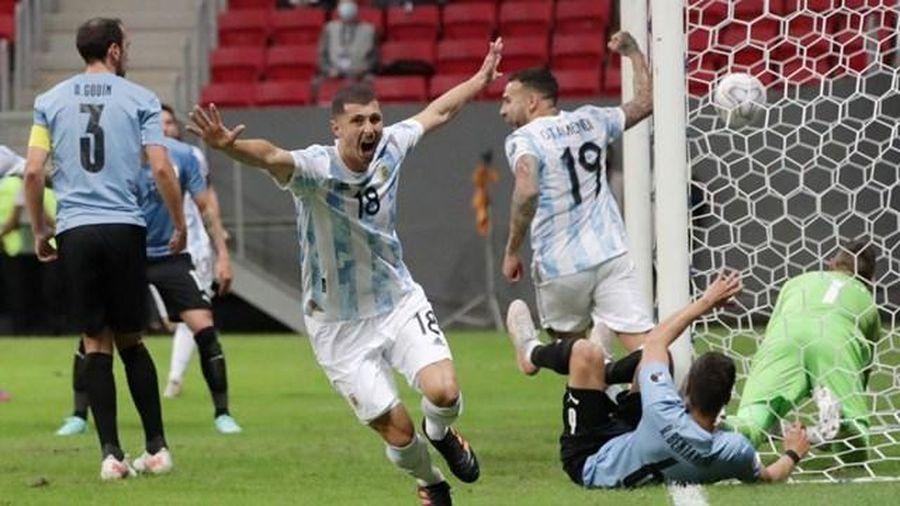 Argentina 1-0 Uruguay: Messi tiếp tục lập công lớn