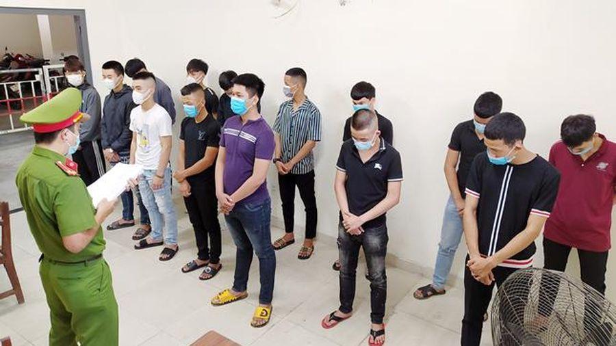 Khởi tố thêm 15 đối tượng trong vụ chém người tại Cung thể thao Tiên Sơn