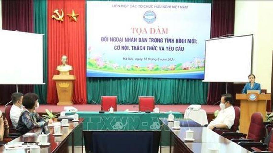 Tăng cường phối hợp giữa 3 trụ cột của nền ngoại giao Việt Nam