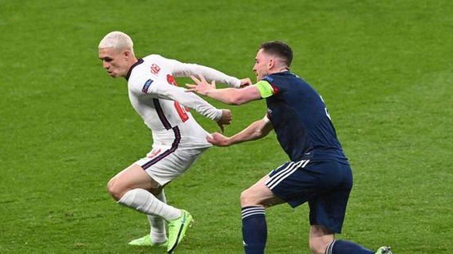 ĐT Anh chia điểm nhạt nhòa với Scotland