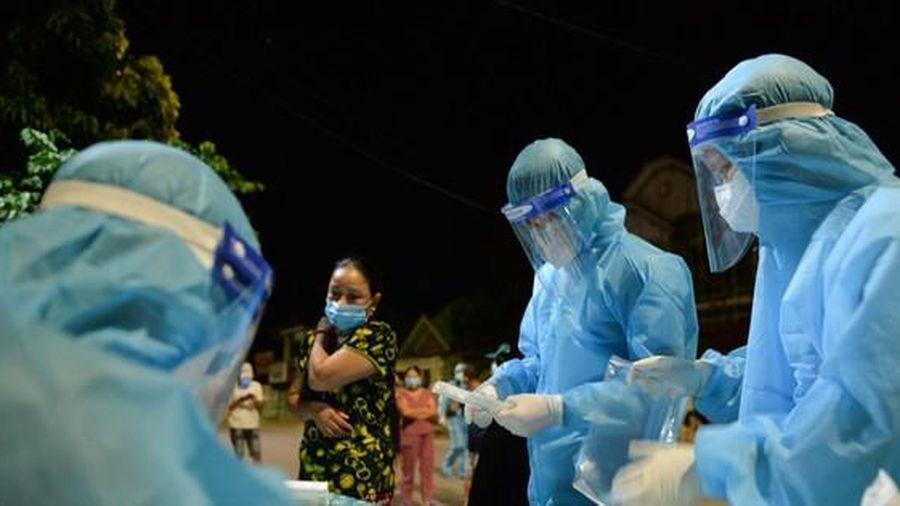 Sáng 19/6, Nghệ An ghi nhận thêm 4 ca dương tính SARS-CoV-2