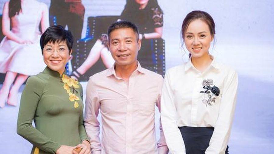 Bà xã kém 15 tuổi của Công Lý lên tiếng khi bị nói 'tô vẽ' mối quan hệ với MC Thảo Vân