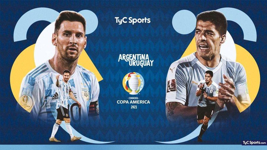 Trực tiếp Argentina vs Uruguay: Messi đấu Suarez, Cavani