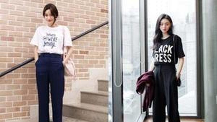 Những tip mặc trang phục tối màu giúp bạn cao và gầy hơn trông thấy mà không hề bị 'dừ'
