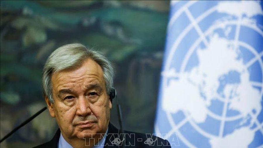 Tổng thư ký LHQ Antonio Guterres tuyên thệ nhậm chức nhiệm kỳ 2022-2026