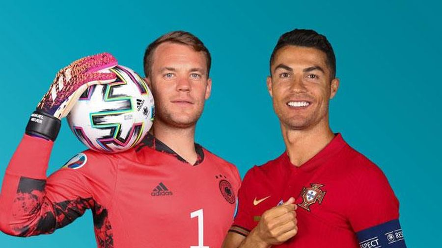 Lịch phát sóng EURO 2020 đêm 19, rạng sáng 20/6: Đại chiến Bồ Đào Nha - Đức