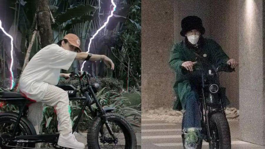 Sơn Tùng khoe 'đồ chơi' mới trên Instagram: Là chiếc xe máy G-Dragon từng dùng để hẹn hò với Jennie?