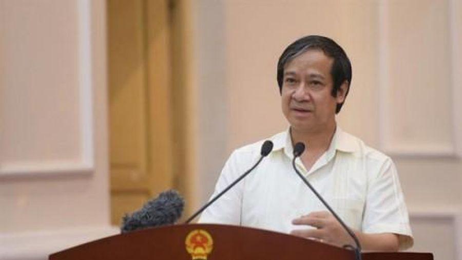 Bộ trưởng Bộ GD&ĐT Nguyễn Kim Sơn: Nguồn lực đặc biệt của quốc gia là xã hội học tập
