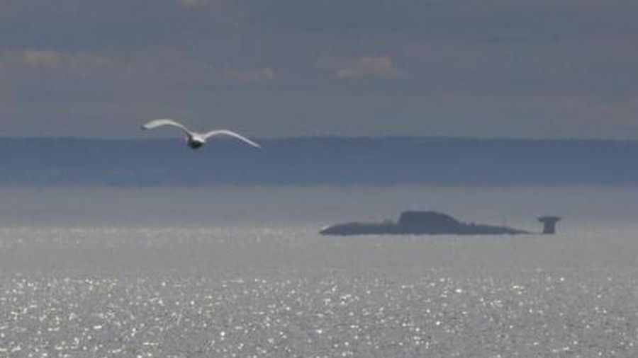 Akula của Hạm đội Phương Bắc tập diệt tàu ngầm địch tại Biển Barents