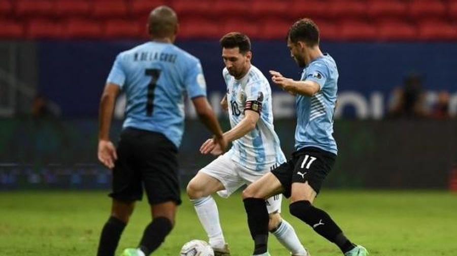 Kết quả, bảng xếp hạng Copa America 2021 ngày 19/6: Argentina thắng nhọc Uruguay, Messi thở phào