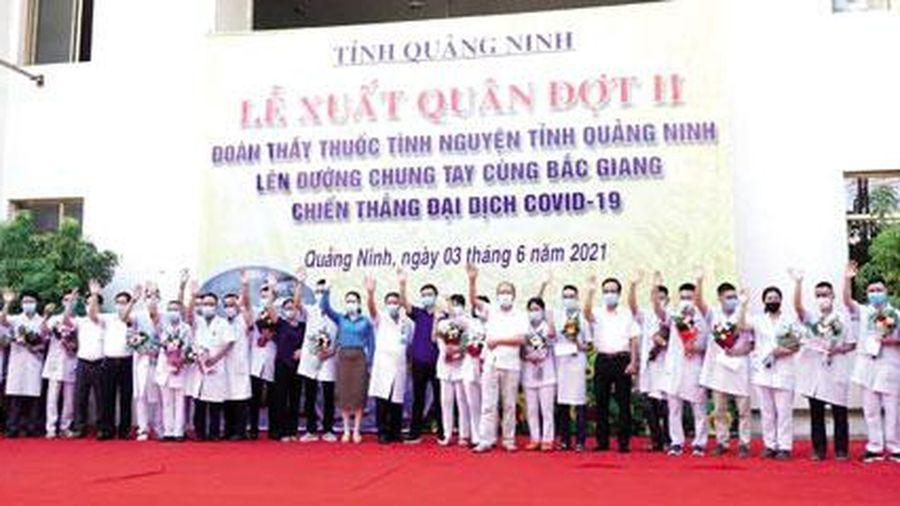 Quảng Ninh: Chung sức, đồng lòng chiến thắng đại dịch