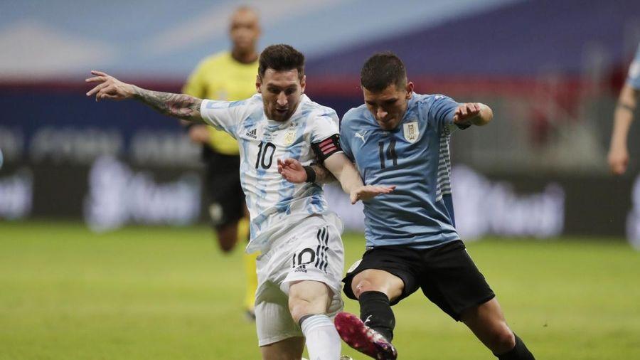 Messi ghi dấu ấn, Argentina đánh bại Uruguay