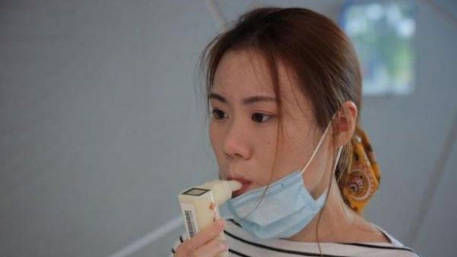 Thiết bị xét nghiệm COVID-19 qua hơi thở siêu nhanh