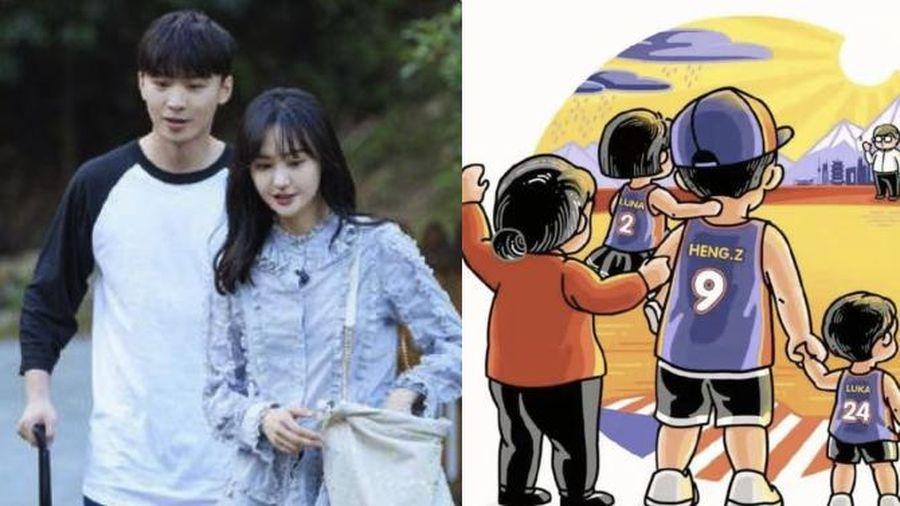 Sau 1 tháng thắng kiện, Trương Hằng đăng ảnh tiết lộ tình hình 2 đứa con kèm thông điệp ẩn ý về Trịnh Sảng