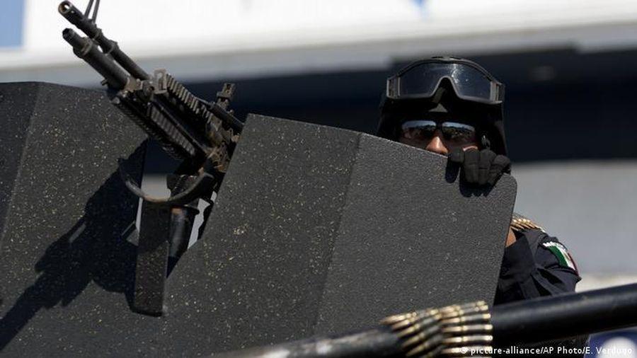 Xả súng hàng loạt ở thành phố biên giới Mexico, 18 người thiệt mạng