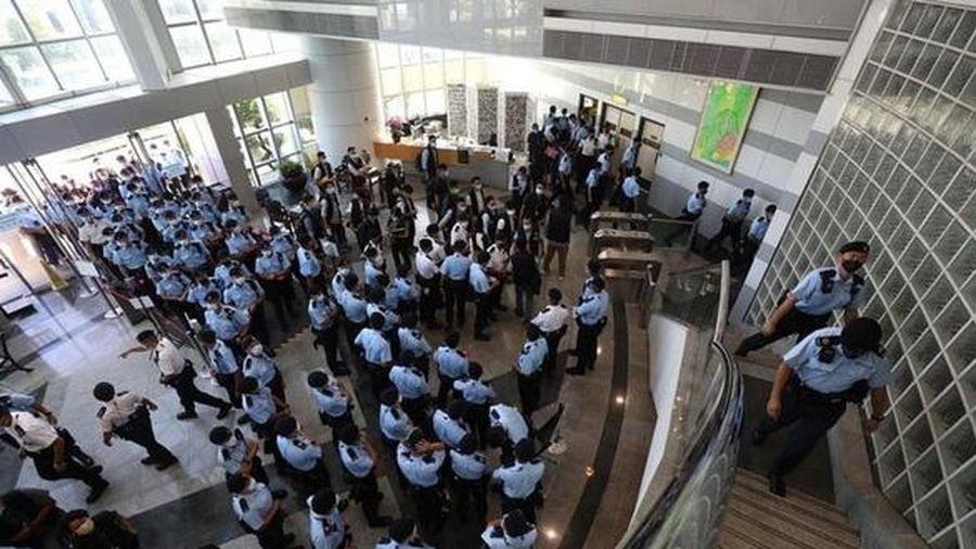 Báo Apple Daily của Hong Kong sắp hết tiền