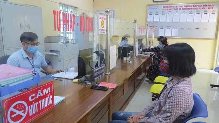 Huyện Thanh Oai chấn chỉnh tác phong làm việc giúp tăng chỉ số cải cách hành chính