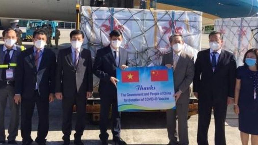 Việt Nam tiếp nhận 500.000 liều vacxin Vero-Cell của Sinopharm