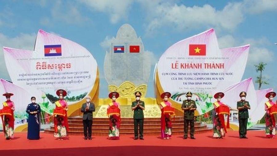 Khánh thành công trình thắt chặt tình hữu nghị Việt Nam-Campuchia