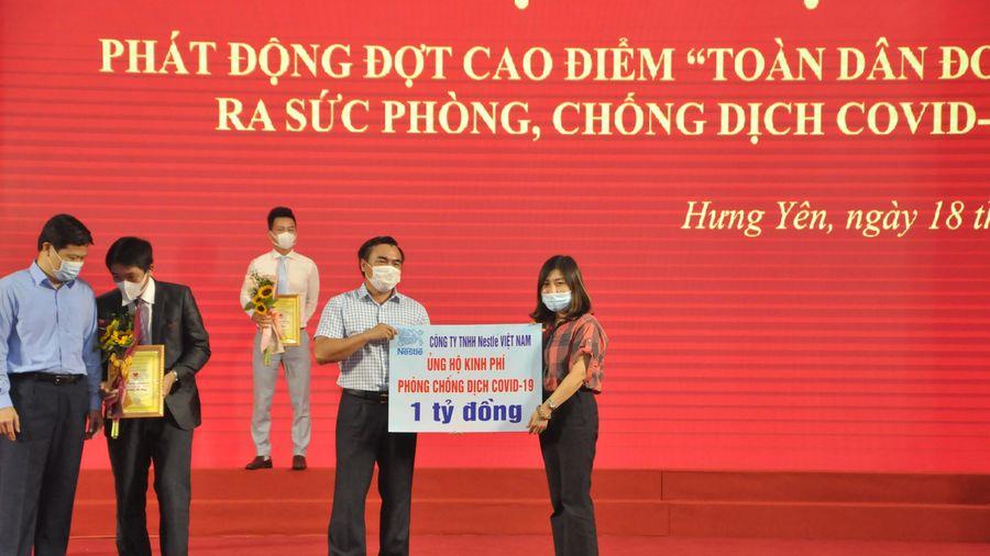 Nestlé Việt Nam ủng hộ 4 tỷ đồng cho Quỹ vaccine phòng chống COVID-19