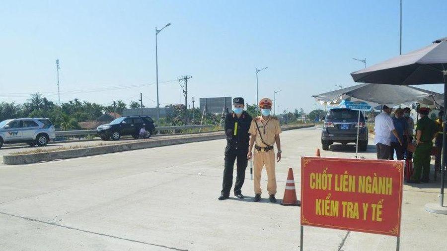 Cách ly tập trung người từ TP Hồ Chí Minh về Quảng Ngãi