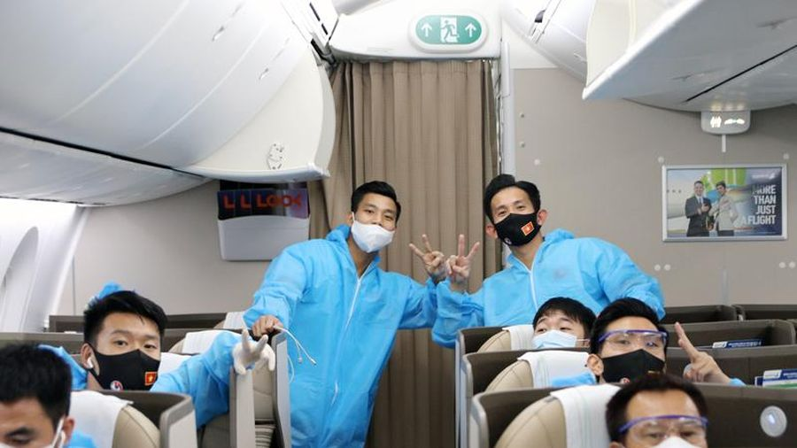 Toàn bộ tuyển Việt Nam âm tính với SARS-Cov-2 trong lần xét nghiệm đầu tiên