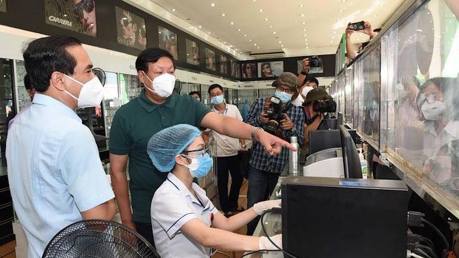Kiểm tra công tác phòng, chống dịch Covid-19 tại Nghệ An