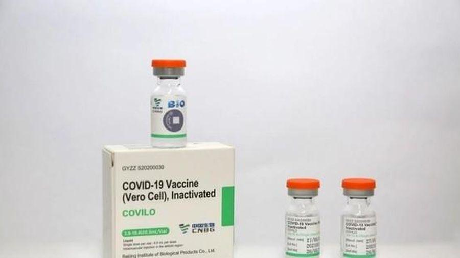 Ba đối tượng tiêm vắc xin Vero cell của Sinopharm