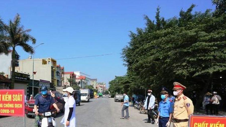 Phát hiện ca mắc COVID-19 mới trong cộng đồng, Bắc Ninh thiết lập vùng phong tỏa