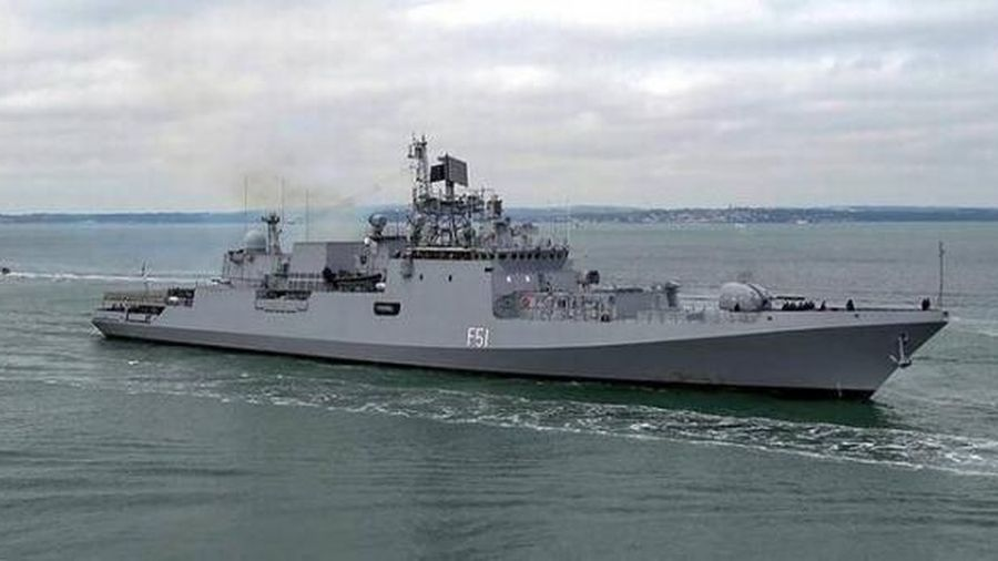 Hải quân Ấn Độ tập trận chung với 3 nước châu Âu