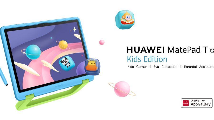 Huawei MatePad T10 Kids Edition ra mắt: tablet cho trẻ em, vỏ cao su, bút stylus, giá 200 USD
