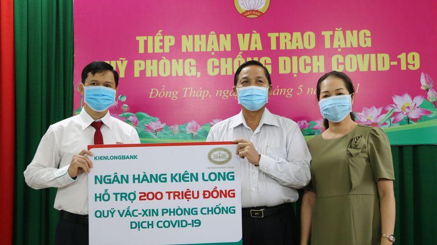 Quỹ Vaccine phòng COVID-19 đã nhận được gần 5.800 tỷ đồng