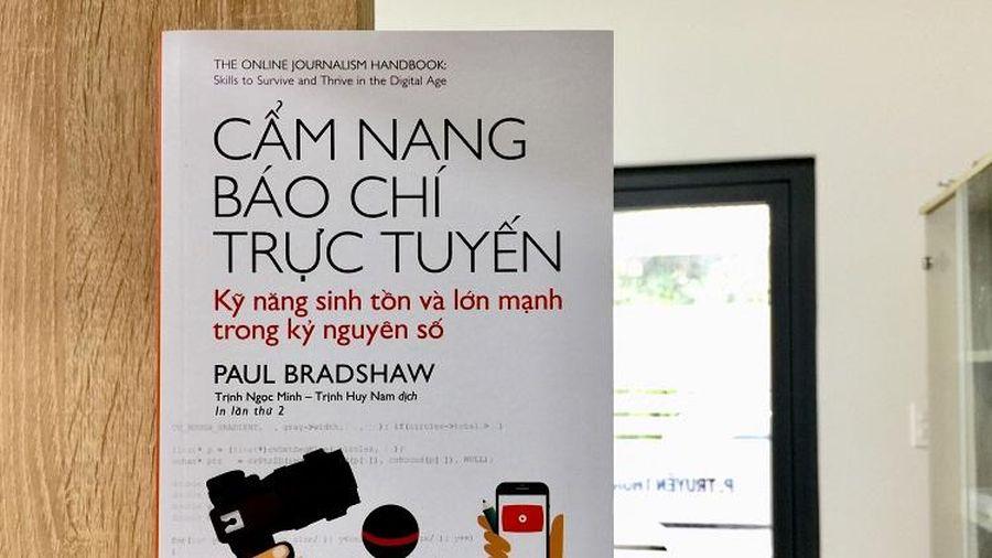 Ra mắt hai cuốn sách viết về nghề báo nhân Ngày Báo chí Việt Nam 21/6