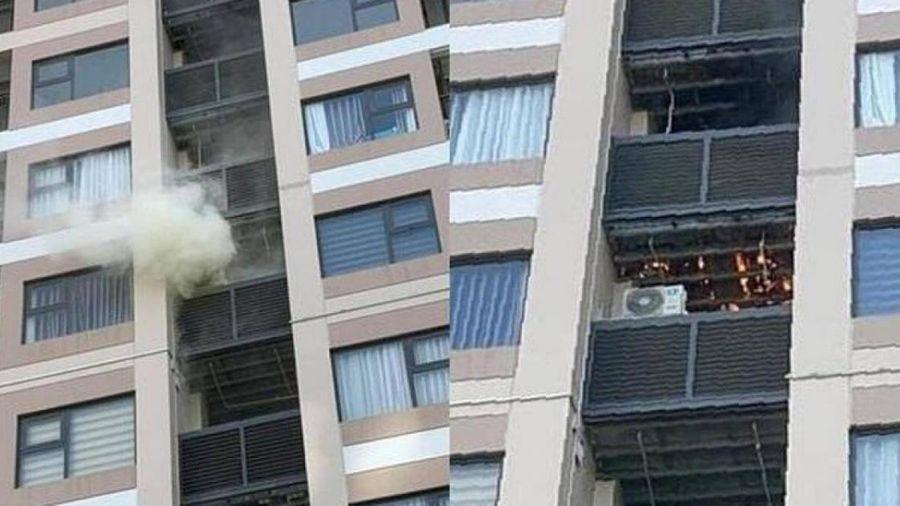 Hà Nội: Lộ nguyên nhân cháy ở chung cư cao cấp giữa nắng nóng 'đổ lửa'