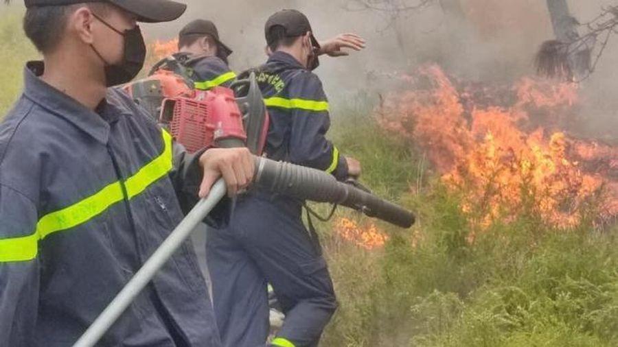 Nghệ An: Hơn 1,1 ha rừng bị cháy giữa trưa