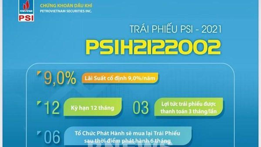 PSI sẽ phát hành 500 tỷ đồng trái phiếu với lãi suất 9%/năm
