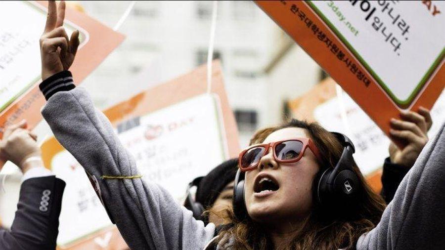 Thanh niên Hàn Quốc và vấn đề chính trị