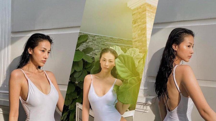 Hoa hậu Phương Khánh khoe body nữ thần với bodysuit, mách nước fan mẹo tự sướng tại nhà
